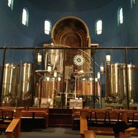 Photo taken at The Church Brew Works by Cathy D. on 4/12/2013