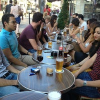 Photo taken at Café Lazar by Jonathan B. on 8/1/2013