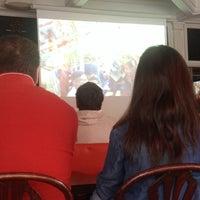 Photo taken at Café Lazar by Jonathan B. on 6/30/2014