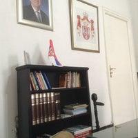 Photo taken at Ambassade de Serbie by Omar D. on 6/13/2014