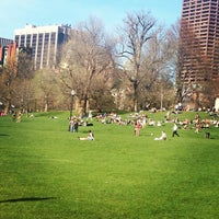 Photo taken at Boston Common by Beth Q. on 4/24/2013