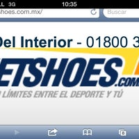 Photo taken at www.netshoes.com.mx by Fernando R. on 3/29/2013
