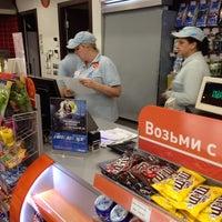 Photo taken at Газпромнефть АЗС № 135 by Sergeℹ on 7/17/2014