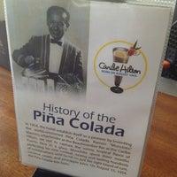 Photo taken at Caribe Hilton Lobby Bar by Jun F. on 6/9/2013