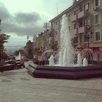Photo taken at Приморский Арбат by Svetlana R. on 6/23/2013
