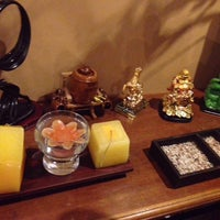 Photo taken at Earth's Accent Day Spa by Broo L. on 12/1/2014