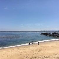 Photo taken at Breakwater Beach by Felipe G. on 6/5/2016