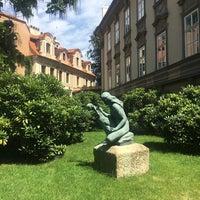 Photo taken at Ledeburská zahrada   Ladeburg Garden by Felipe G. on 7/31/2017