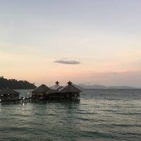 Photo taken at Gayana Eco Resort by Xanga K. on 2/23/2016