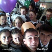 Photo taken at Школа № 110 by Annie on 6/6/2014