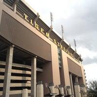 Photo taken at Tiger Stadium by Heather M. on 2/10/2013