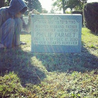 Photo taken at New Montefiore Cemetery by Andrea M. on 10/12/2014