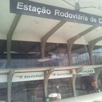 Photo taken at Estação Rodoviária de Criciúma by felipe b. on 3/17/2013