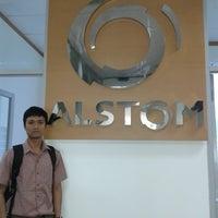 Photo taken at Alstom GRID by Dwinanto R. on 9/27/2013