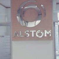 Photo taken at Alstom GRID by Dwinanto R. on 9/26/2013