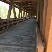 Photo taken at Littleton Riverwalk Bridge by Christy T. on 5/30/2016