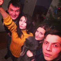 Photo taken at 3 пятак п.Строитель by Никита И. on 1/29/2014