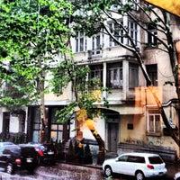 Photo taken at I. Abashidze Street   ი. აბაშიძის ქუჩა by takosia d. on 5/20/2013