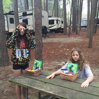 Photo taken at Stone Mountain Park Campground by Linda B. on 3/29/2016