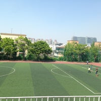 Photo taken at 방배중학교 by Jieun B. on 5/11/2013