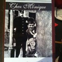 Photo taken at Chez Monique by Hotelchalet H. on 4/9/2013