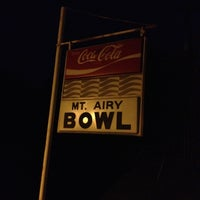 Photo taken at Mt. Airy Duckpin Bowling Lanes by Paul C. on 5/12/2013