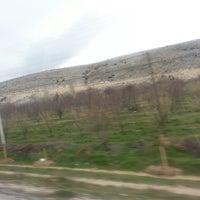 Photo taken at Isparta - Eğirdir Yolu by Seval K. on 3/26/2013