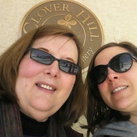 Photo taken at Clover Hill Winery by Lynette O. on 3/1/2014