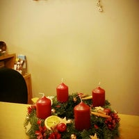 Photo taken at Hotel Edvards Riga by Dana Ž. on 11/29/2015