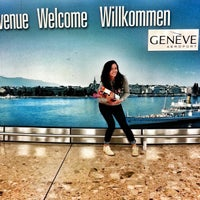 Photo taken at GVA Arrival Hall by Alexandra V. on 9/24/2013