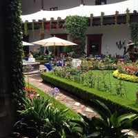 Photo taken at San Angel Inn by Voolksorf on 6/23/2013