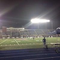 Photo taken at Varsity Stadium by Georgina B. on 10/24/2012