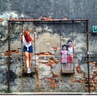 Photo taken at Penang Street Art by Fieza_Ismail on 12/14/2014