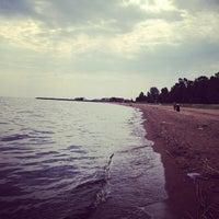 Photo taken at Lake Ladoga by Анастасия И. on 6/5/2013