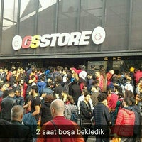 Photo taken at Galatasaray Store by Çağatay U. on 10/19/2016