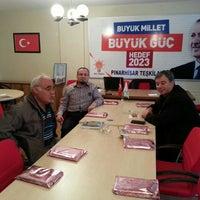 Photo taken at Ak Parti Pınarhisar İlçe Başkanlığı by Ufuk K. on 2/15/2016