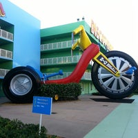 Photo taken at Disney's Pop Century Resort by Brian B. on 5/8/2013