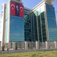 Photo taken at T.C. Gençlik ve Spor Bakanlığı by Tuğrul V. on 3/18/2013