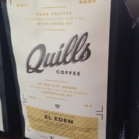 Photo taken at Quills Coffee by Kelsey K. on 10/1/2013