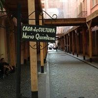 Photo taken at Casa de Cultura Mario Quintana by Maria M. on 4/27/2013