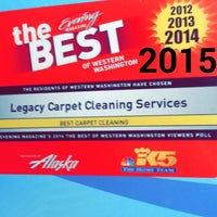 Photo taken at Legacy Services Carpet Cleaning by Ron L. on 2/6/2018