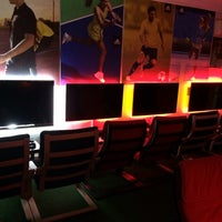 Photo taken at Offside Playstation Cafe by Mustafa B. on 1/28/2014