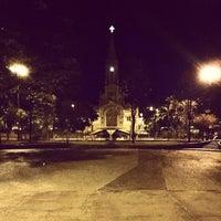 Photo taken at Praça Bebedouro by Ismar A. on 8/7/2014