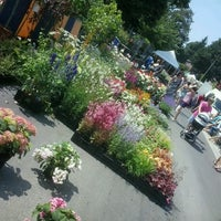 Photo taken at Marché de Boitsfort / Markt van Bosvoorde by Paul B. on 7/7/2013