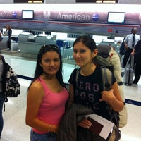 Photo taken at Miami International Airport Security Division by Patricia M. on 3/11/2013