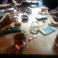 Photo taken at no:42/B  Tattoo Cafe by Gizem D. on 8/4/2015