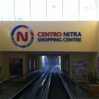 Photo taken at Centro Nitra by Radovan M. on 3/4/2013