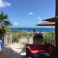 Photo taken at Ritz Carlton Key Biscayne white sand beach by Emerson A. on 4/11/2015