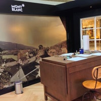 Photo taken at Montblanc Boutique by Phoenix T. on 10/16/2014