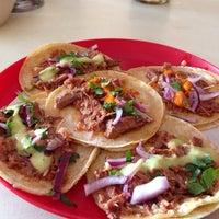 Photo taken at Tacos El Sonorense by Enrique G. on 2/4/2014
